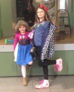 Chloe and Ruby our 'testers'