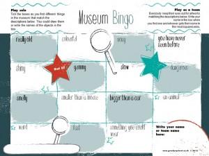 Museum Bingo